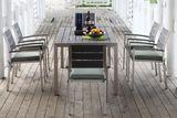 záhradná súprava Capri so šiestimi stoličkami