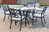 záhradná súprava Chyverton Round so sedákmi