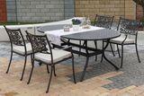 záhradná súprava Barnsley oval 4 so sedákmi