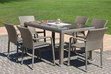 PIOMBINO ratanová súprava so stolom MEZZO 90 x 150 cm