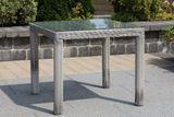 SIENA WHITE ratanová súprava so stolom 90x90 cm