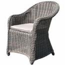 Ratanové záhradné stoličky