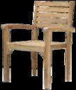 Teakové stoličky