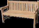 Teakové lavice