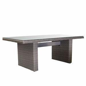 COVENTRY ratanový záhradný stôl so klom 100 x 200 cm