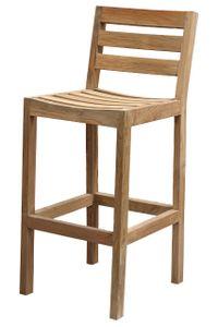 CASTELLO barová stolička z teakového dreva