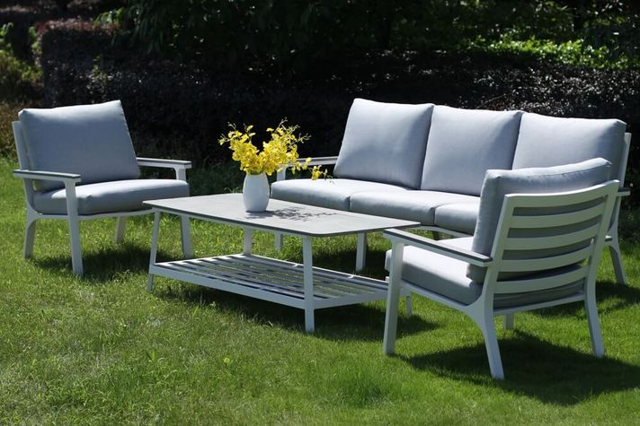 BILBAO záhradné sedenie s hliníkovou konštrukciou
