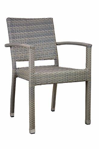 Kaviarenská stolička Mezza Grey