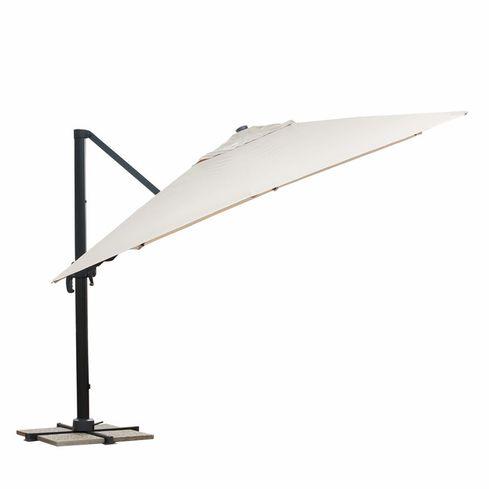 HAWAI závesný slnečník 3x3m béžový