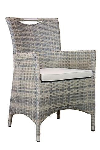 SICILIA ratanová stolička so sedákom