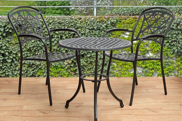 LYNTON sedenie na balkón so stolom ROSE priemer 60 cm