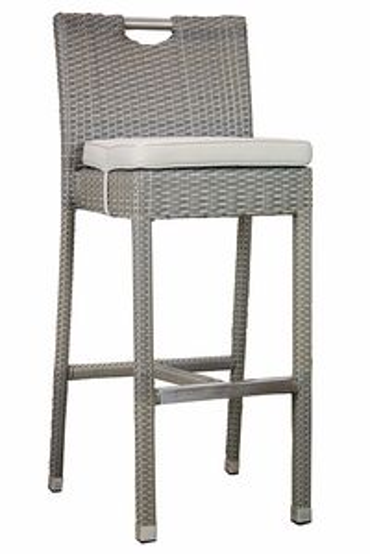 CANTON barová ratanová stolička