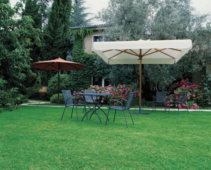 03a697958 Slnečník Palladio Standard - Záhradný nábytok Teak and Garden